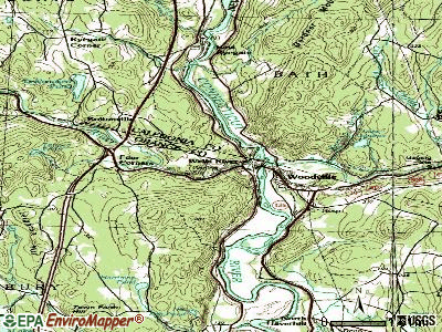 Wells River topographic map