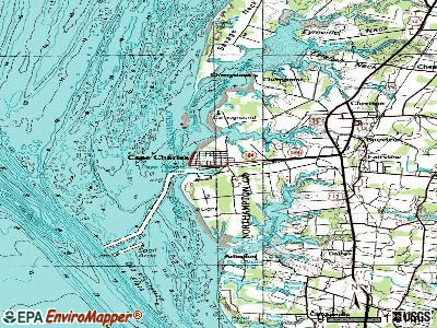 Cape Charles topographic map