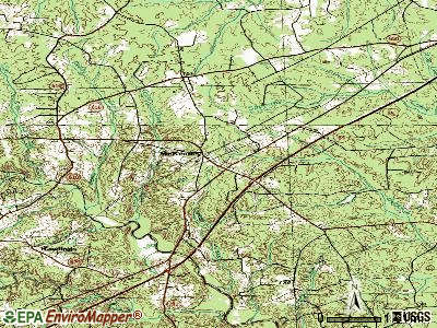 McKenney topographic map