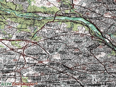 McLean topographic map