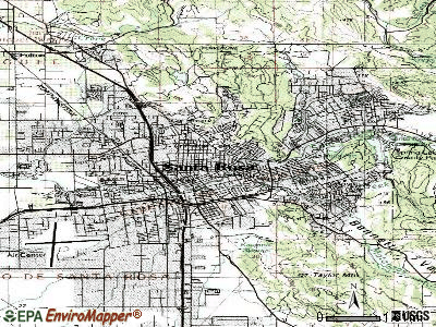 Santa Rosa topographic map