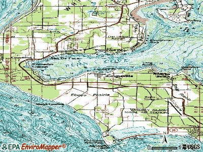 Coupeville topographic map