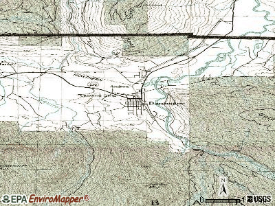 Darrington topographic map