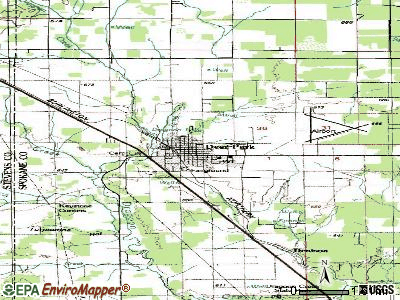 Deer Park topographic map