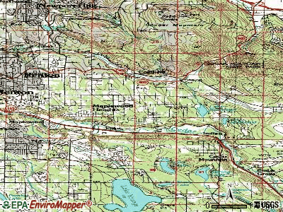 East Renton Highlands topographic map