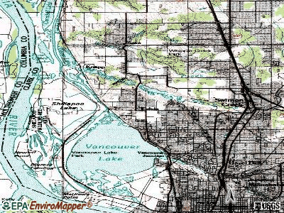 Felida topographic map