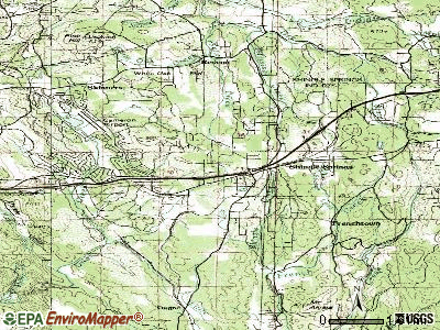 Shingle Springs topographic map