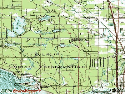 John Sam Lake topographic map