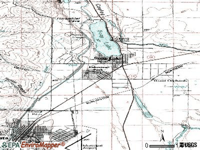 Lakeview topographic map