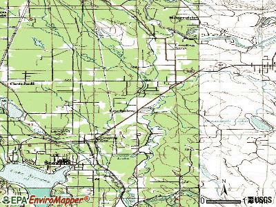 Lochsloy topographic map