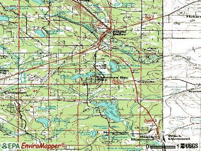 Maple Valley topographic map