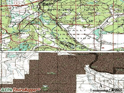 Nisqually Indian Community topographic map
