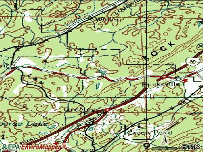Lake View topographic map