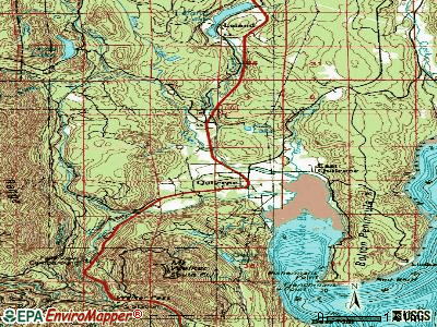 Quilcene topographic map