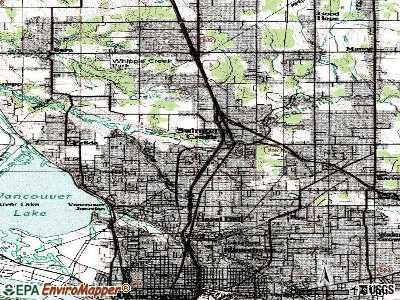 Salmon Creek topographic map