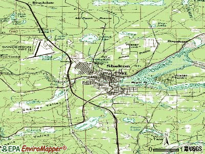 Skykomish topographic map