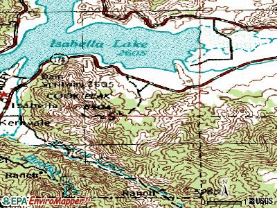 Squirrel Mountain Valley topographic map
