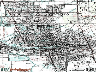 Stockton topographic map