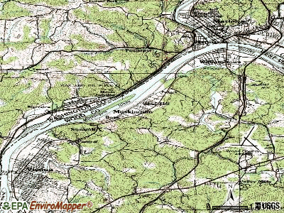 Boaz topographic map