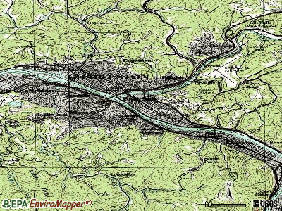Charleston topographic map