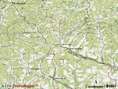 Fairview topographic map
