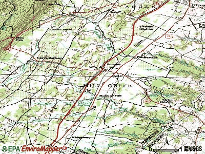 Inwood topographic map