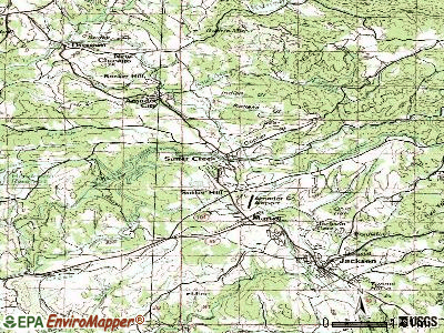 Sutter Creek topographic map