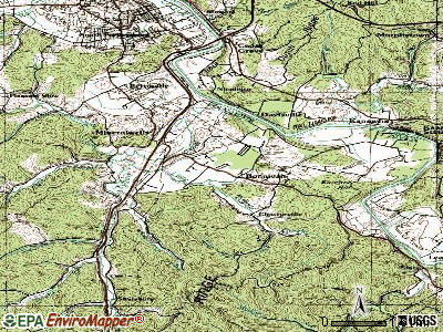 Mineralwells topographic map