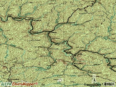 War topographic map
