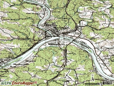 Williamstown topographic map