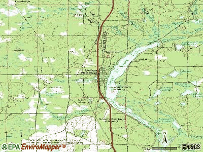 Solon Springs topographic map