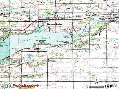 Spring Grove topographic map