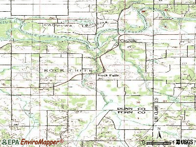 Rock Falls topographic map