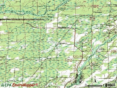 Wagner topographic map