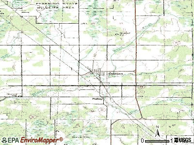 Gilman topographic map