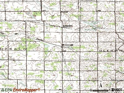 Thornapple topographic map