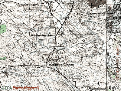 Waldon topographic map