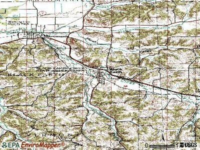 Black Earth topographic map