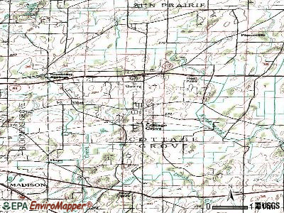 Cottage Grove topographic map