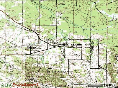 Fairchild topographic map