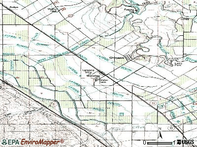 Westley topographic map