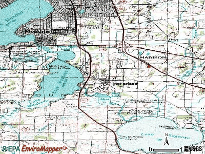 McFarland topographic map