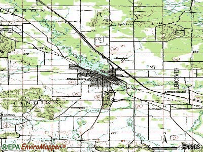 Mauston topographic map