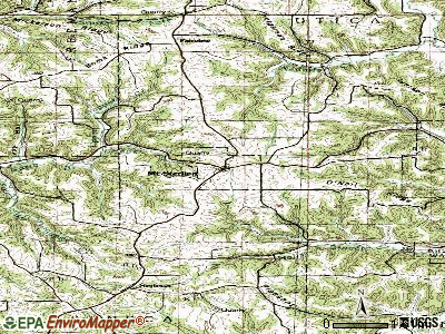 Mount Sterling topographic map