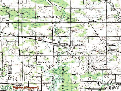 Reedsville topographic map