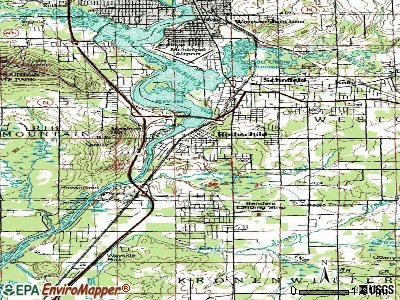 Rothschild topographic map