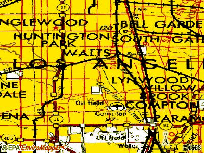 Willowbrook topographic map