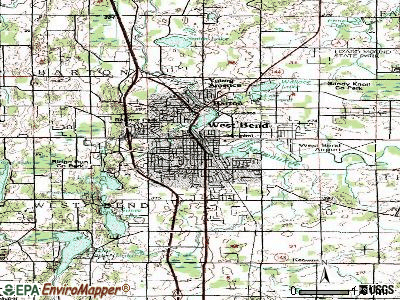 West Bend topographic map