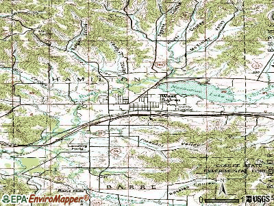 West Salem topographic map