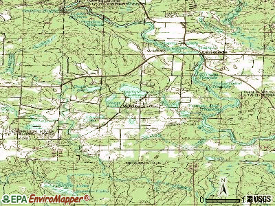 White Lake topographic map